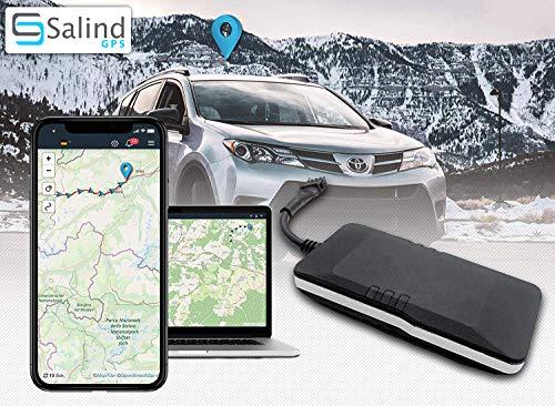 SALIND GPS-Tracker Auto, Motorrad, Fahrzeuge und...