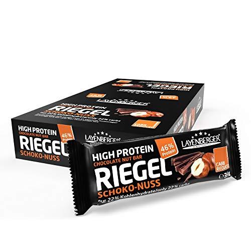Layenberger High Protein Riegel Schoko-Nuss mit...