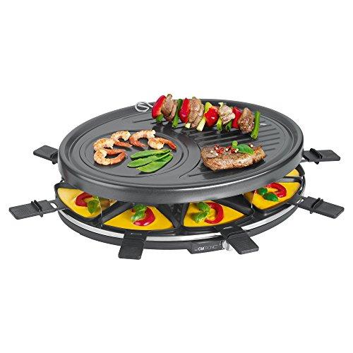 Clatronic RG 3517 Raclette-Grill zum Grillen und...