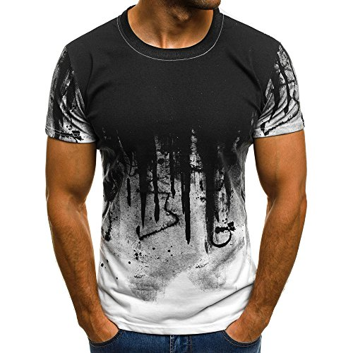 Sport T-Shirt Herren Kanpola Slim Fit Kurzarm...