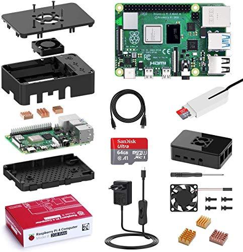 Bqeel Raspberry Pi 4 Model B 2 GB Ultimatives Kit...