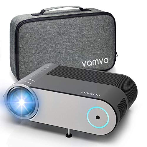 Beamer, Vamvo Mini Beamer Full HD 4000 Lumens,...