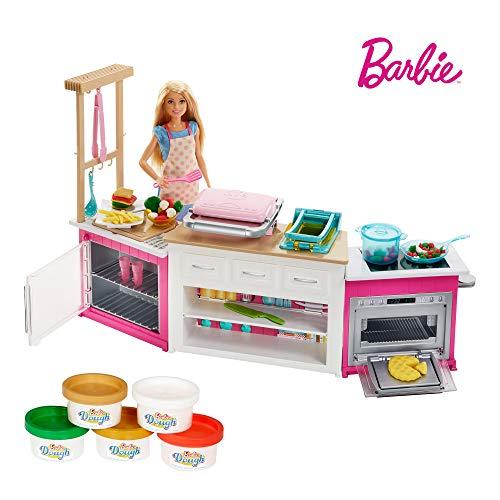 Barbie FRH73 - Cooking und Baking Deluxe Küche...