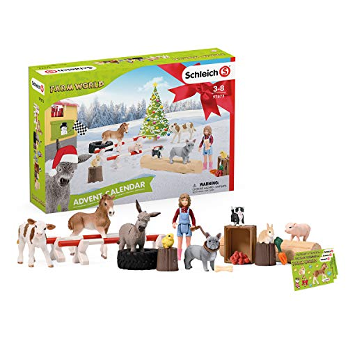 SCHLEICH 97873 Farm World 2019 Adventskalender,...