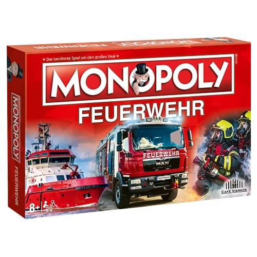 Café Viereck ® Monopoly Feuerwehr - das...