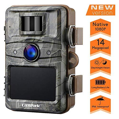 Campark Wildkamera 14MP 1080P mit bewegungsmelder...
