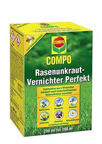 COMPO Rasen Unkrautvernichter Perfekt, Vernichtung...