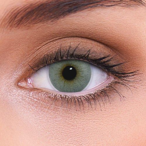 Stark deckende natürliche graue Kontaktlinsen...