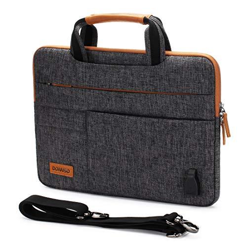 DOMISO 12,5-13 Zoll Wasserdicht Laptop Tasche...