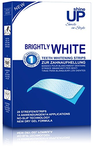 shineUP Bright White-Strips, 28 Bleaching-Stripes...