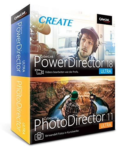 CyberLink PowerDirector 18 Ultra & PhotoDirector...