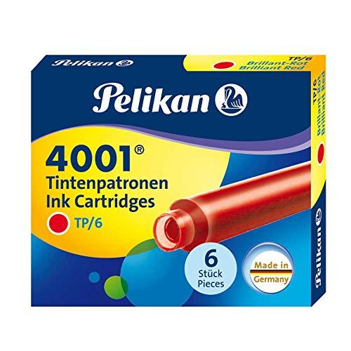 Pelikan 301192 Tintenpatronen rot