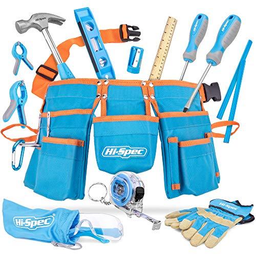 Hi-Spec 16-teiliges Kinder-Werkzeug-Kit mit...