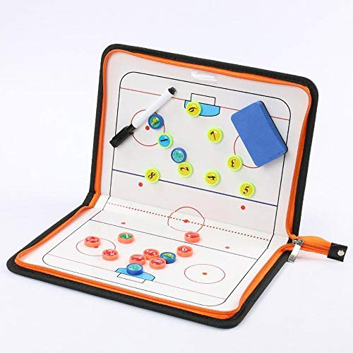 EIS Hockey Magnetic Tactical Coach Board...