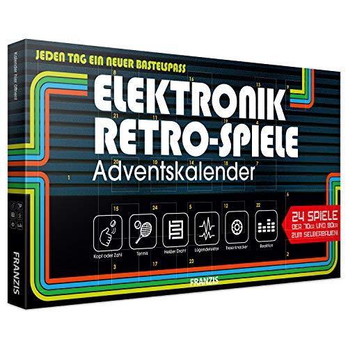 FRANZIS Elektronik Retro Spiele Adventskalender...