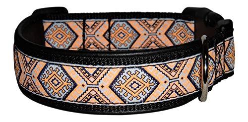 Ledustra Hundehalsband Inka Indianer Leder...