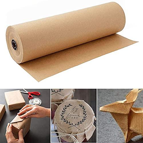 Braun Kraftpapier Kraftpapier Rolle 45cm x 30m...