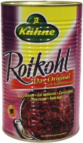 Kühne Rotkohl küchenfertig 3,85 kg (4250 ml.)