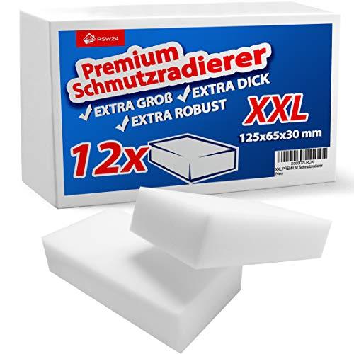 RSW24® 12 Stück Schmutzradierer PREMIUM XXL...