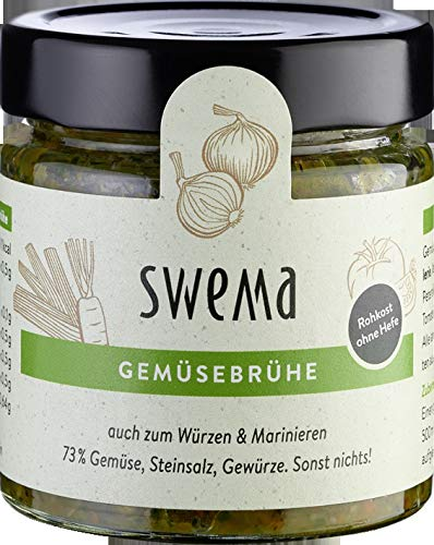 SweMa Frische Gemüsebrühe 'SweMa' mit 73% rohem...