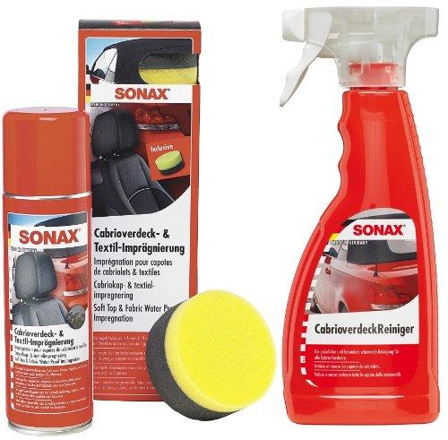 1x SONAX Profi Angebots-Set Cabrio - Reiniger &...