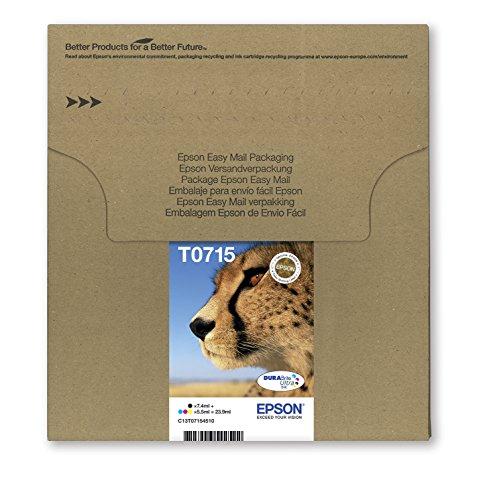 Epson Original T0715 Tinte Gepard, wisch- und...