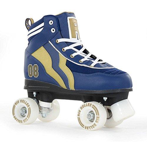 Rio Roller Varsity Quads Rollschuhe Disco Roller...