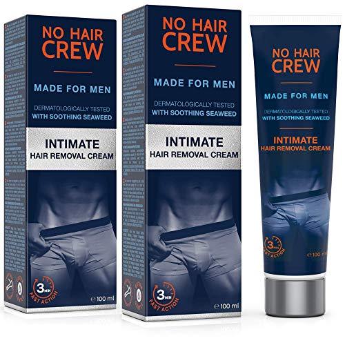 2 x NO HAIR CREW Premium Enthaarungscreme für den...