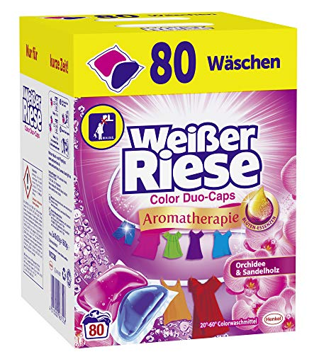 Weißer Riese Color Duo-Caps, Aromatherapie...