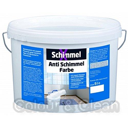 Pufas 5000 SchimmelX Anti-Schimmelfarbe...