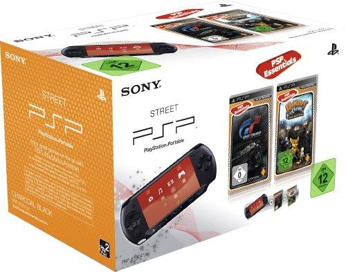 PlayStation Portable - Konsole E1004, schwarz mit...