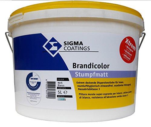 SIGMA Brandicolor Xtreme, 5L Innenwandfarbe,...