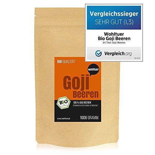 Wohltuer Bio Goji Beeren | Glutenfrei,...