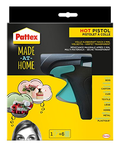 Pattex Made at Home Heißklebepistole, Kleber für...