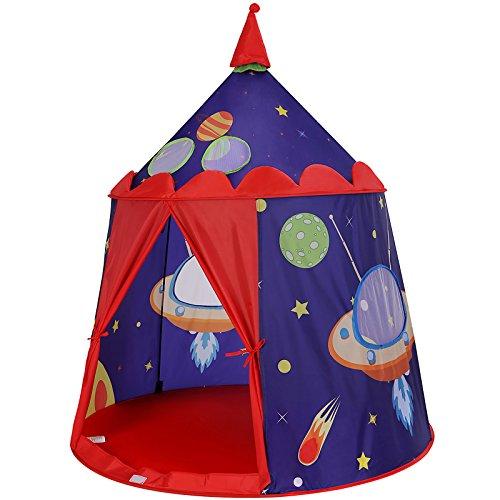 SONGMICS Spielzelt, Prinzenschloss Zelt für Jungs...