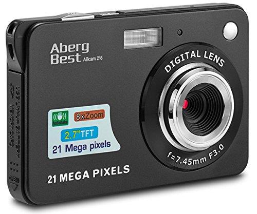 AbergBest 21 Megapixel 2,7'LCD wiederaufladbare HD...