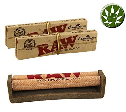 Set Raw Ecoplastic KingSize Drehmaschine 110mm aus...