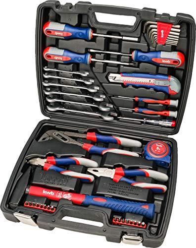kwb Werkzeug-Koffer inkl. Schrauber-Bits,...