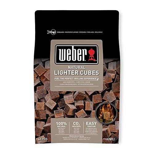 Weber 17612 Anzündwürfel braun, ohne...