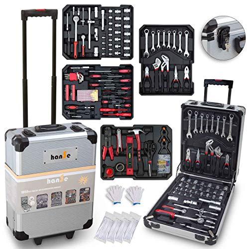hanSe® Werkzeugkoffer Maxi 1050-teilig Werkzeug...