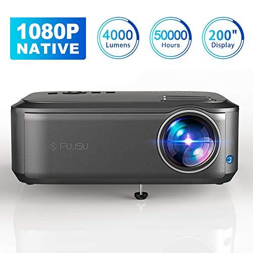 "Beamer Full HD 1080P Native, 4000 Lumen Max 200""..."