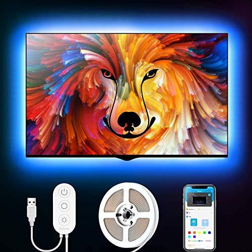 Govee 2m LED Strip, LED TV Hintergrundbeleuchtung,...