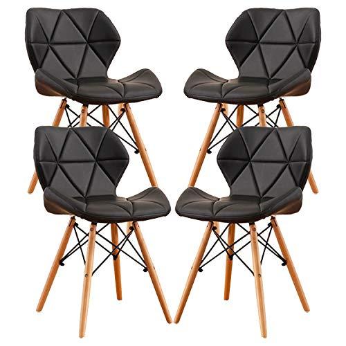 MIFI 4er Set Esszimmerstühle Moderne Gepolsterte...