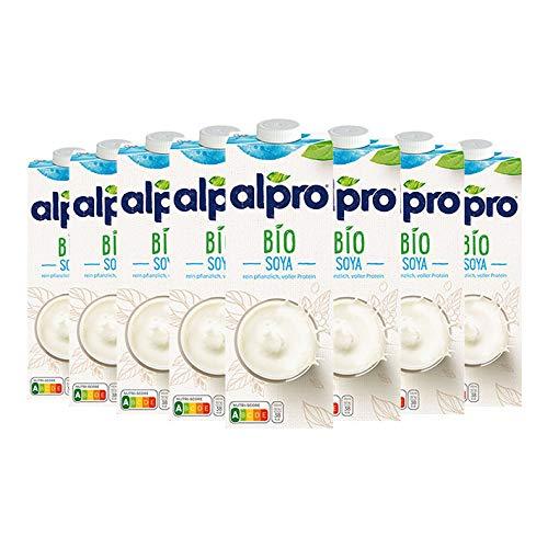 Alpro Soja Drink Bio (8 x 1L)