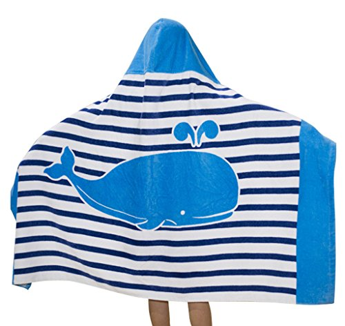 Comfysail 100% Baumwolle Kinder Kapuzen Handtuch...