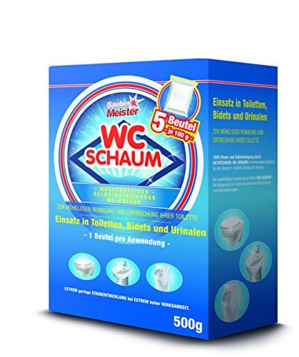 WC Reiniger Schaum   Kraftvoller Kalkentferner &...