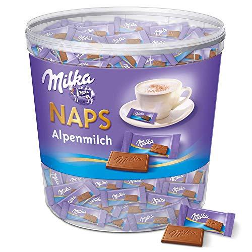 Milka Naps Alpenmilch 1 x 1kg, Zartschmelzende...