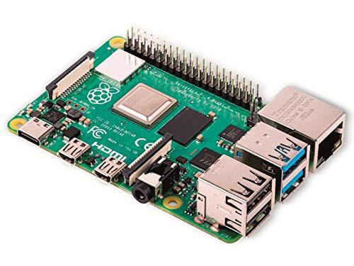 Raspberry Pi 4 Modell B Basisplatine, 2GB,...