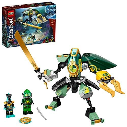 LEGO 71750 NINJAGO Lloyds Hydro-Mech, Unterwasser...