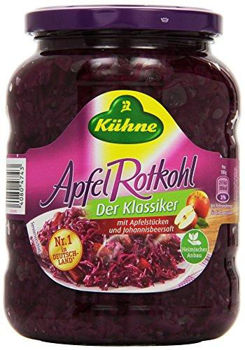 Kühne Apfel-Rotkohl im Glas – Der Klassiker,...